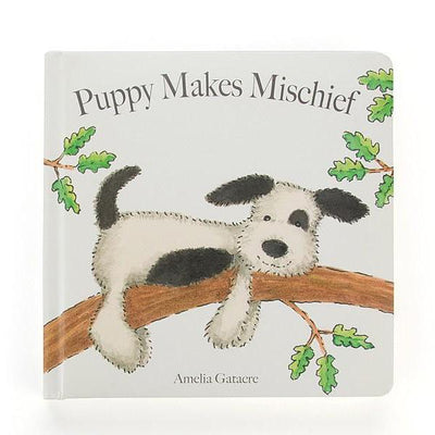 "Jellycat ""Puppy Makes Mischief"" Book, JC-Jellycat UK, Putti Fine Furnishings"