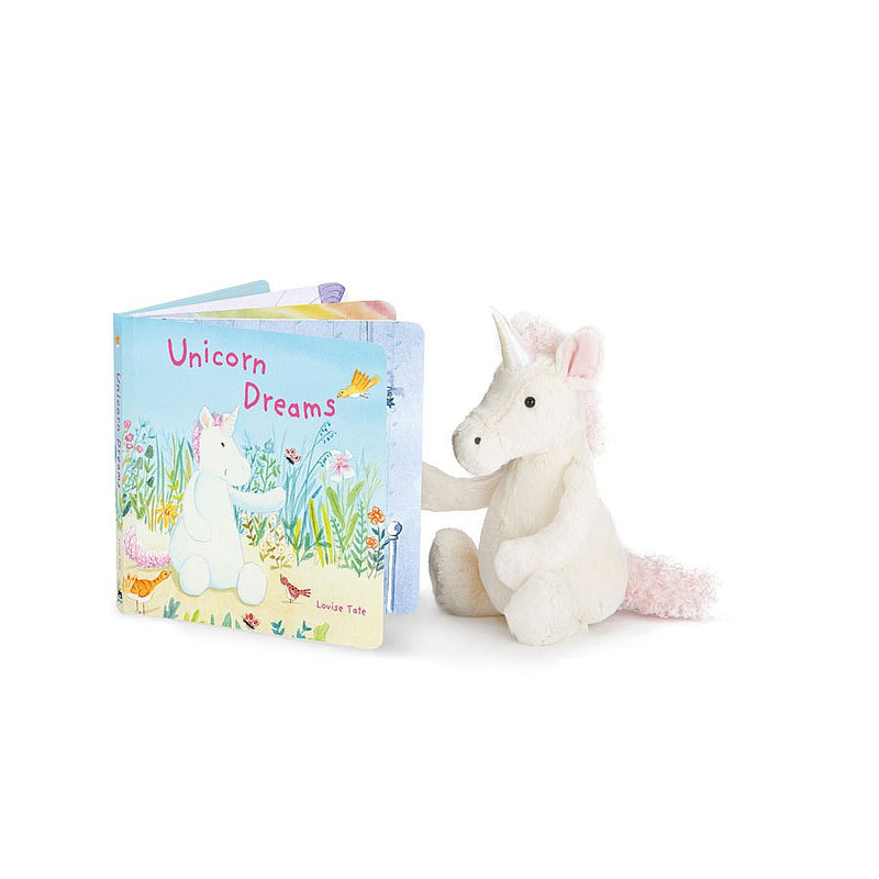 "Jellycat ""Unicorn Dream"" Book, JC-Jellycat UK, Putti Fine Furnishings"