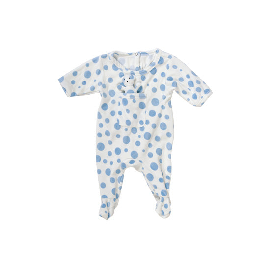 Blue Dot Teddy Sleeper