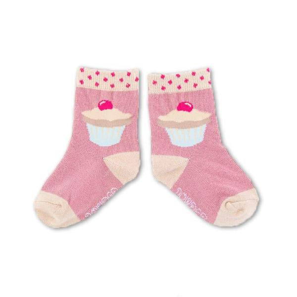 Powder Uk BabyCupcake Socks - Candy Pink, PDL-Powder Design Limited, Putti Fine Furnishings