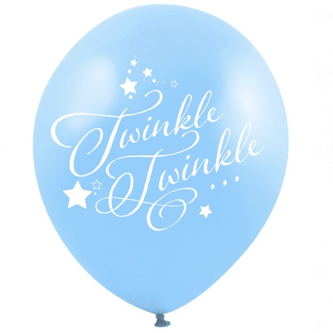 """Twinkle Twinkle"" Balloon - Blue, VA-Vintage Angel, Putti Fine Furnishings"