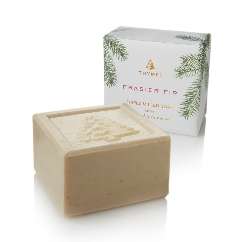 Thymes Frasier Fir Bar Soap -  Home Fragrance - Thymes - Putti Fine Furnishings Toronto Canada