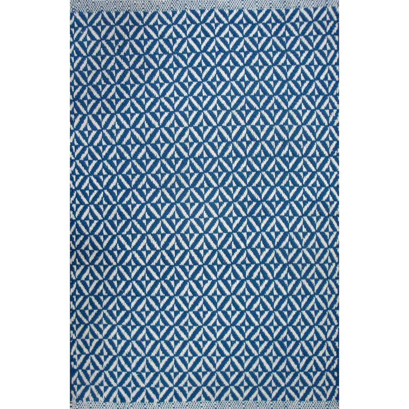 Bev Dhurrie Sailor Blue | Putti Fine Furnishings