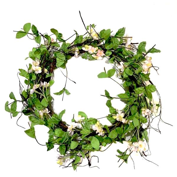 White Blossom Wreath | Putti Fine Furnishings Canada