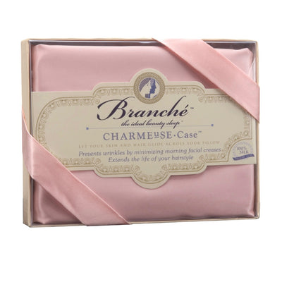 Branche Silk Charmeuse Pillowcase - Blush