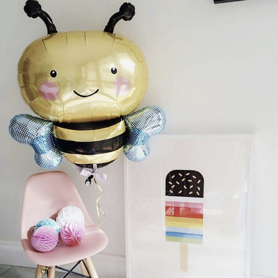 Bumble Bee Mylar Balloon -  Party Supplies - Northstar Balloons - Putti Fine Furnishings Toronto Canada - 2