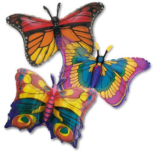 "Supershape ""Jewelled"" Butterfly Balloon, SE-Surprize Enterprize, Putti Fine Furnishings"