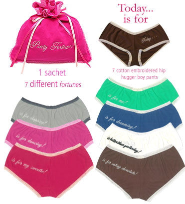 "Mary Green ""Panty Fortunes""-Lingerie-Mary Green Sanfrancisco-Medium - fits 8 to 10-Putti Fine Furnishings"