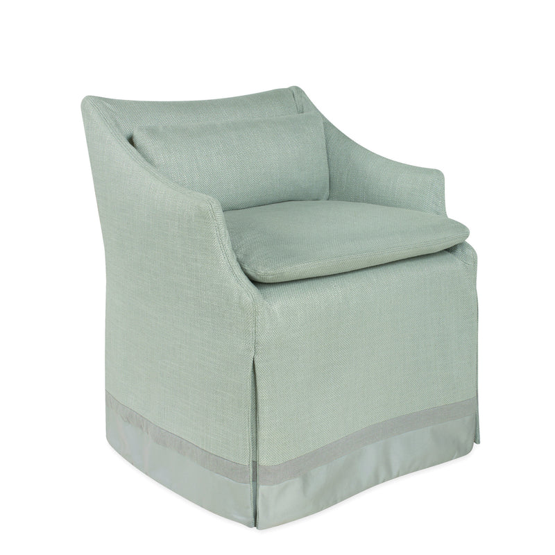 Lee Industries C5203-01C Slipcovered low back campaign Chair