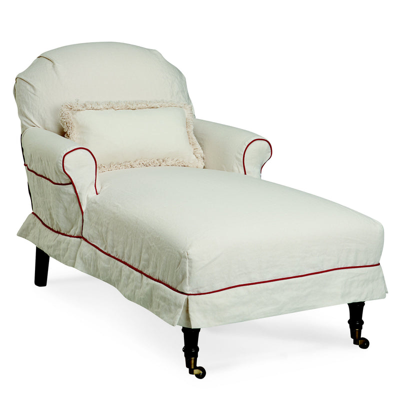 Lee Industries C8840-21 Slipcovered Chaise-Upholstery-Lee Industries-Grade D-Putti Fine Furnishings