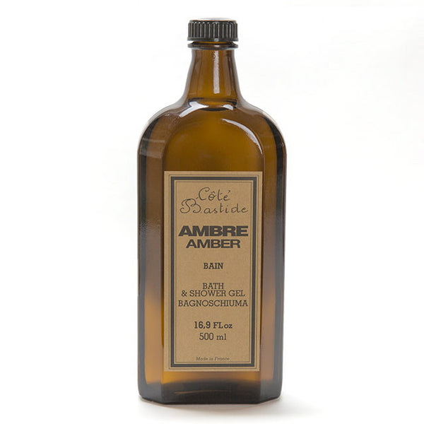 Cote Bastide Shower Gel 500ml - Amber-Personal Fragrance-Cote Bastide-Putti Fine Furnishings