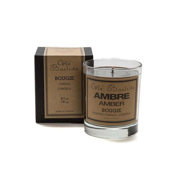 Cote Bastide Candle Boxed - Amber-Bath Products-CB-Cote Bastide-Putti Fine Furnishings