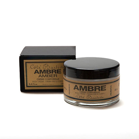 Cote Bastide Body Cream in Glass Jar - Amber-Bath Products-CB-Cote Bastide-Putti Fine Furnishings