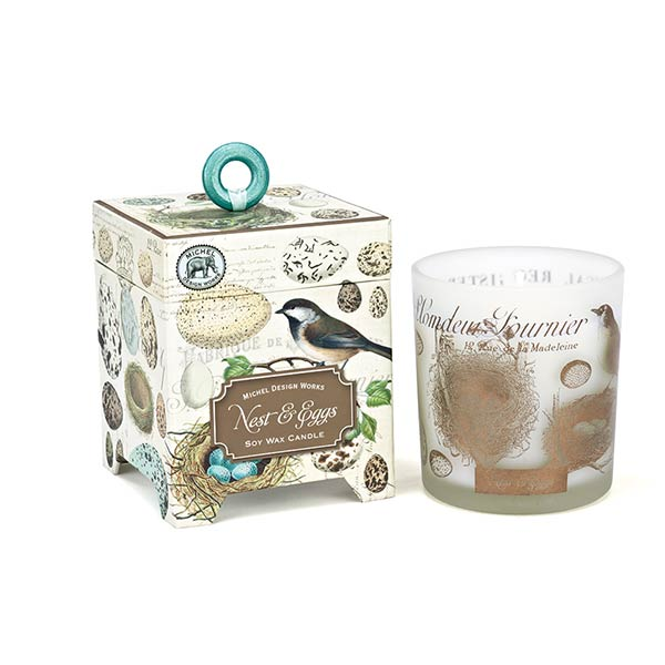 Michel Design Works Nest & Egg Soy wax Candle - 6.5oz | Putti Canada