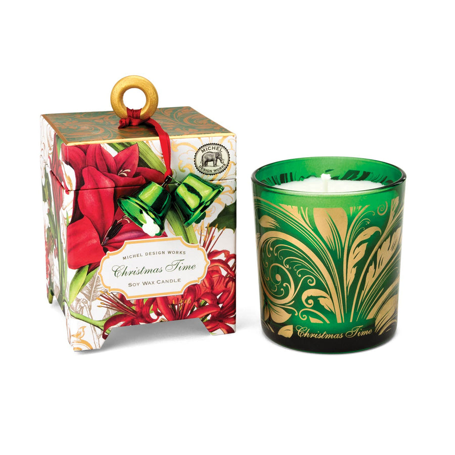 Christmas Time Soy wax Candle - 6.5oz