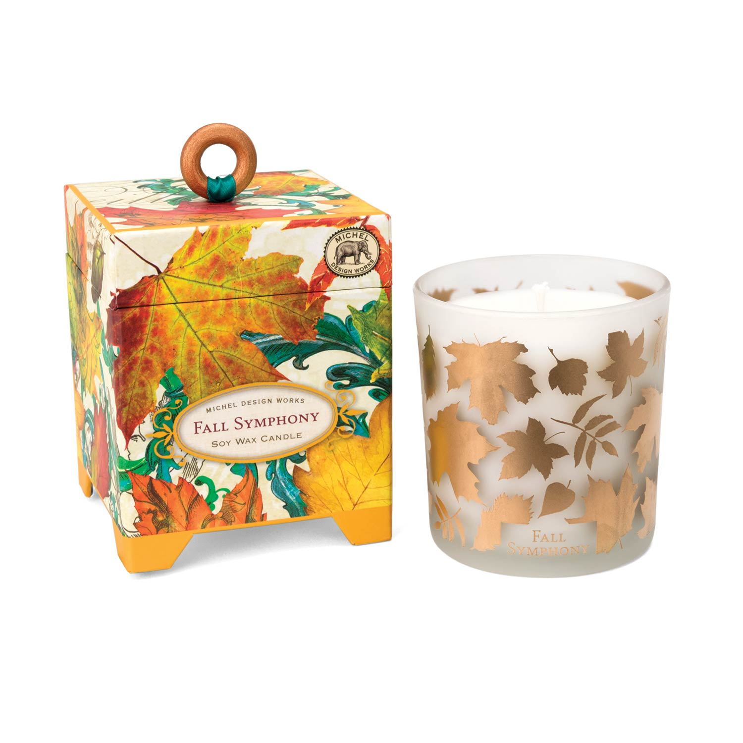 fall symphony soy wax candle