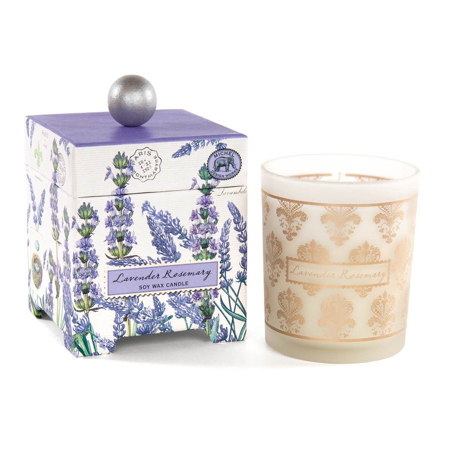 Lavender & Rosemary Soy Wax Candle