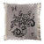 Designers Guild Emmiline Charcoal Throw Pillow