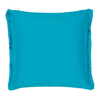 Designers Guild Franchini Turquoise Throw Pillow