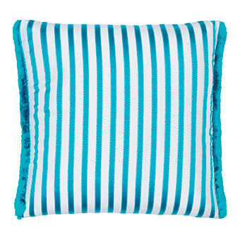 Designers Guild Franchini Turquoise Throw Pillow-Pillow-DG-Designers Guild-Turquoise-Putti Fine Furnishings