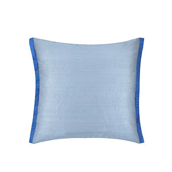 Designers Guild Ophelia Delft Throw Pillow-Pillow-DG-Designers Guild-Cobalt-Putti Fine Furnishings