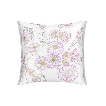 Designers Guild Ophelia Orchid Throw Pillow-Pillow-DG-Designers Guild-Orchid-Putti Fine Furnishings