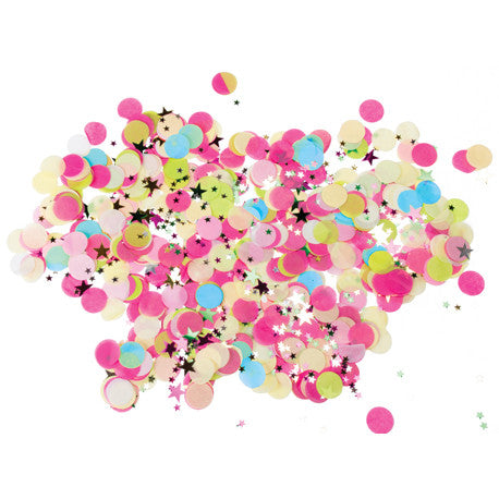 Multicolour Tissue Confetti and Stars
