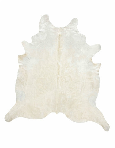 Ivory Cowhide Carpet-Cowhide Carpet-Putti Fine Furnishings-Putti Fine Furnishings