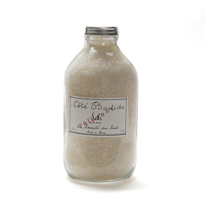 Cote Bastide Bath Salts Jar - Milk, CB-Cote Bastide, Putti Fine Furnishings