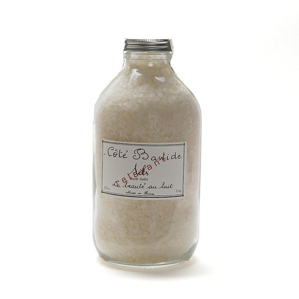 Cote Bastide Bath Salts Jar - Milk-Personal Fragrance-CB-Cote Bastide-Putti Fine Furnishings