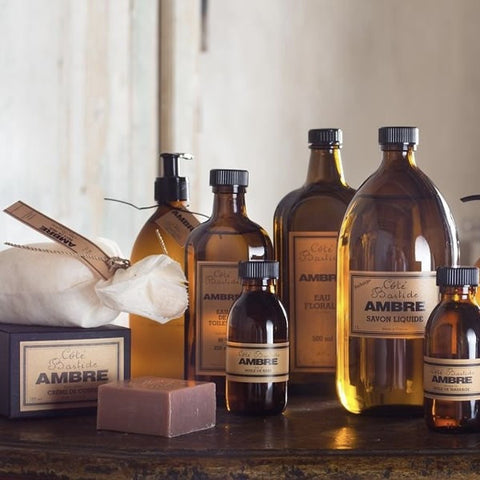 Cote Bastide Bath Oil - Amber-Personal Fragrance-CB-Cote Bastide-Putti Fine Furnishings