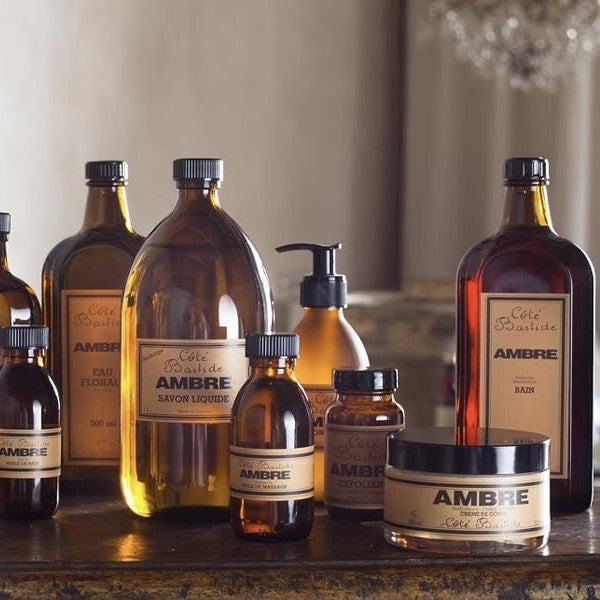 Cote Bastide Bath & Shower Gel with Pump - Amber-Personal Fragrance-CB-Cote Bastide-Putti Fine Furnishings
