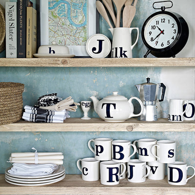 Alphabet Mug - P, JLB-J L Bradshaws, Putti Fine Furnishings