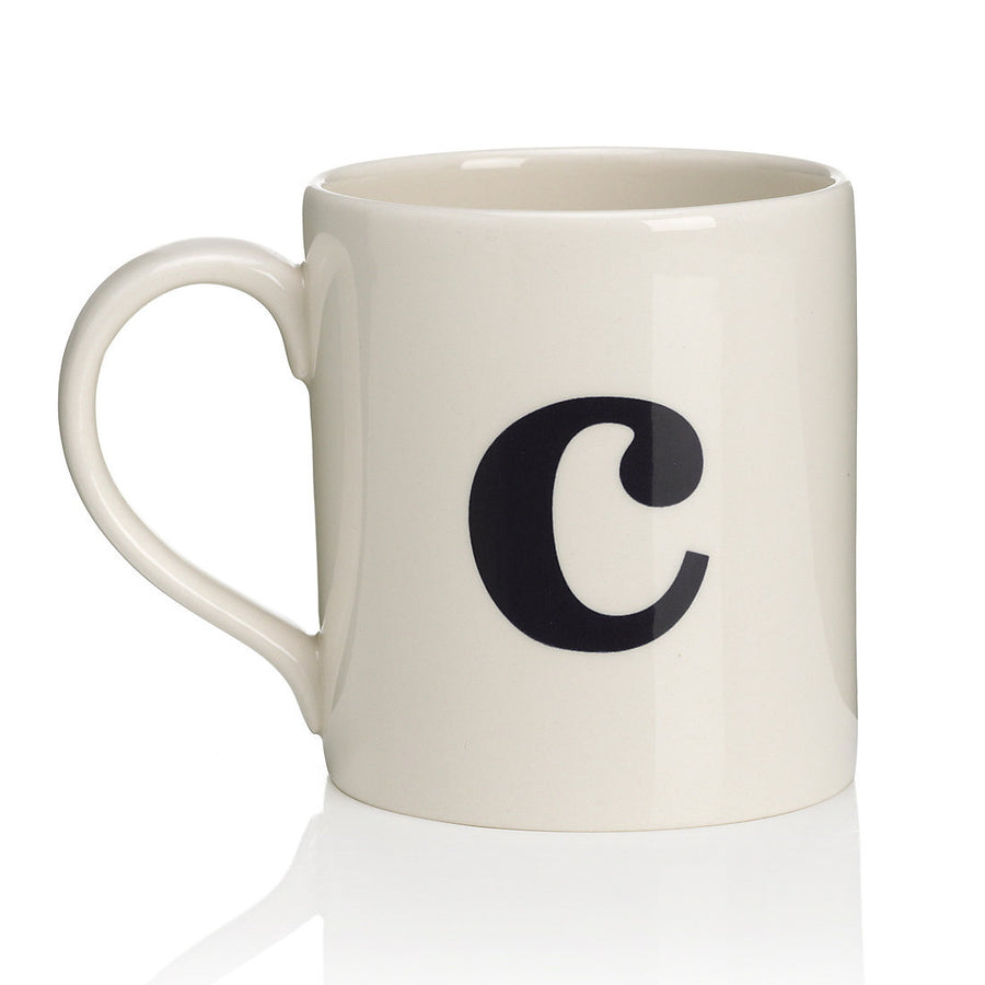 Alphabet Mug - C, JLB-J L Bradshaws, Putti Fine Furnishings