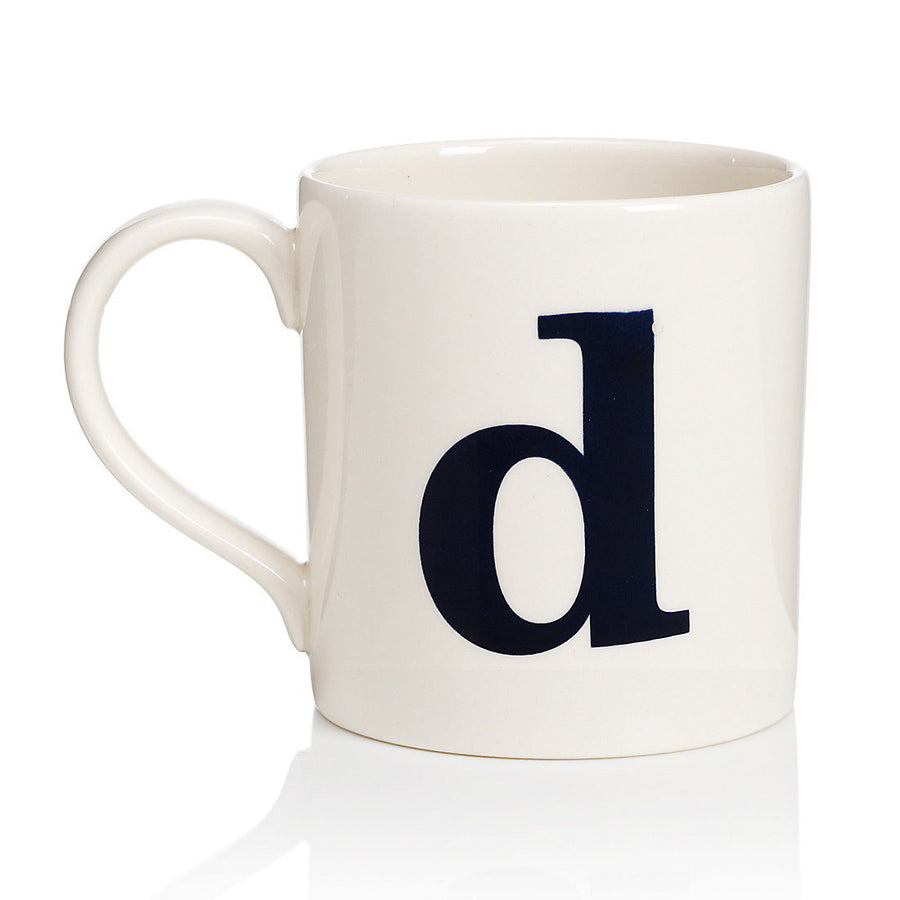 Alphabet Mug - D, JLB-J L Bradshaws, Putti Fine Furnishings