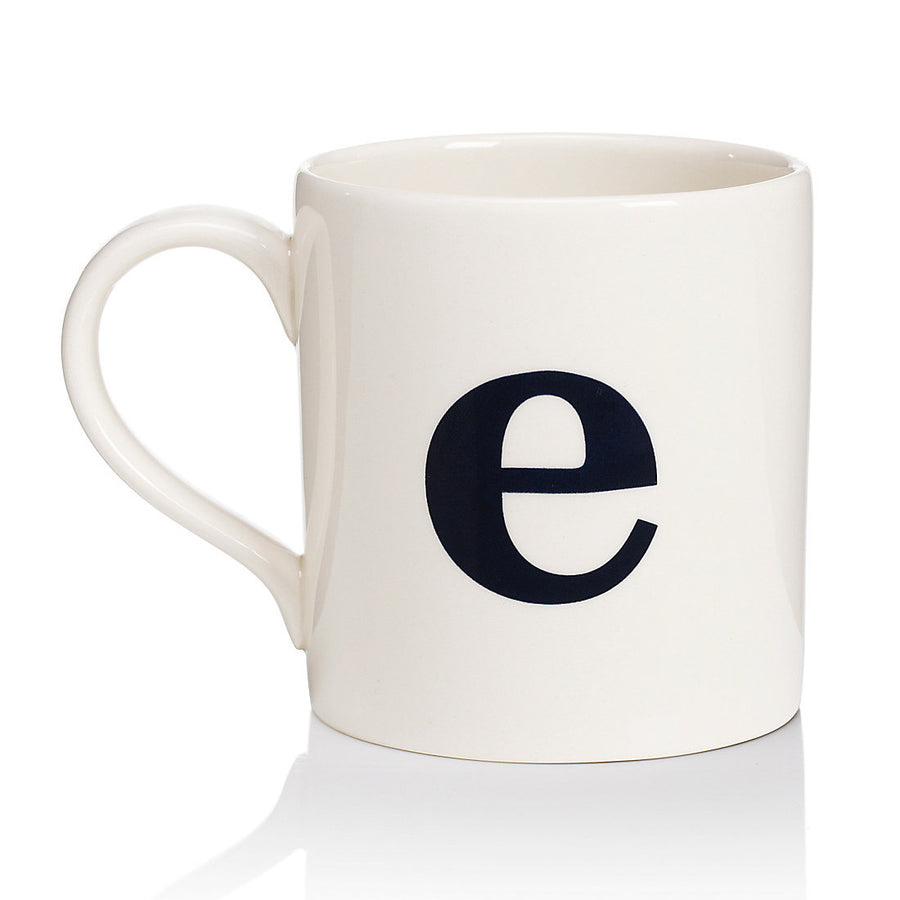 Alphabet Mug - E, JLB-J L Bradshaws, Putti Fine Furnishings