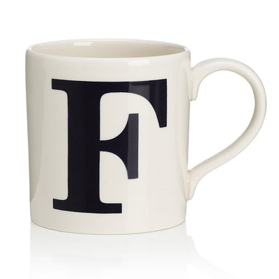 Alphabet Mug - F, JLB-J L Bradshaws, Putti Fine Furnishings