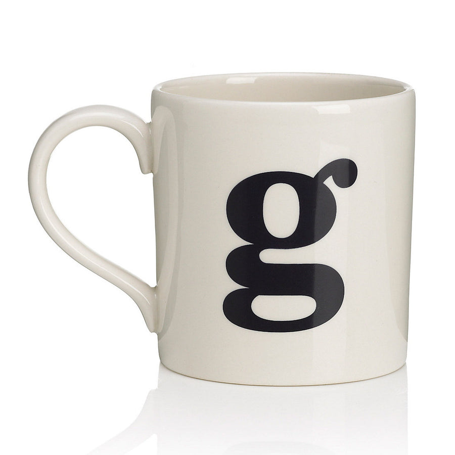 Alphabet Mug - G, JLB-J L Bradshaws, Putti Fine Furnishings