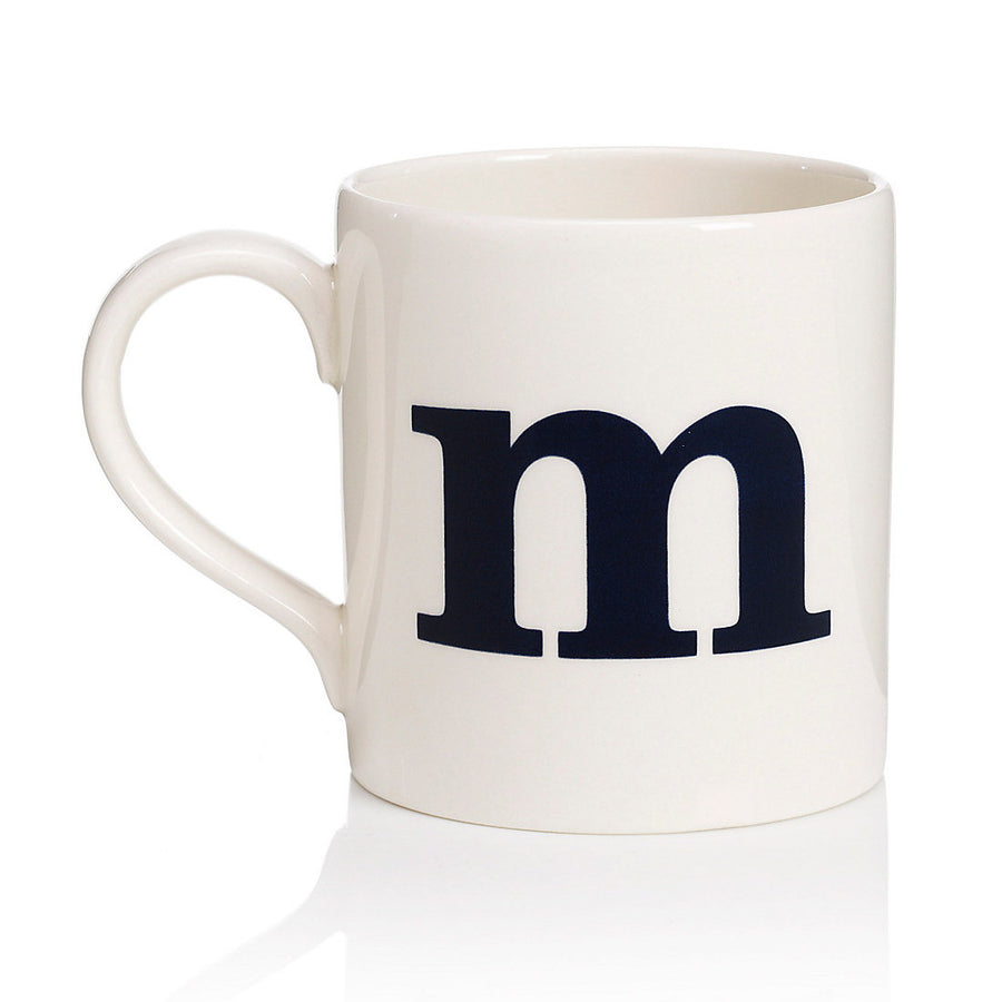 Alphabet Mug - M, JLB-J L Bradshaws, Putti Fine Furnishings