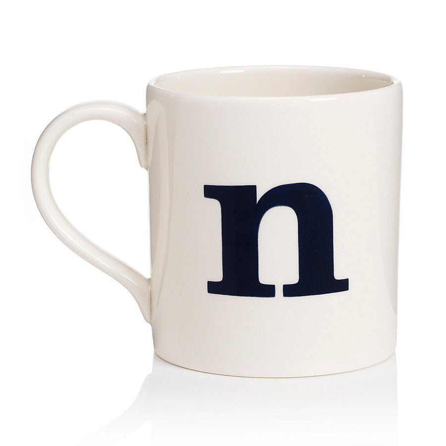 Alphabet Mug - N, JLB-J L Bradshaws, Putti Fine Furnishings