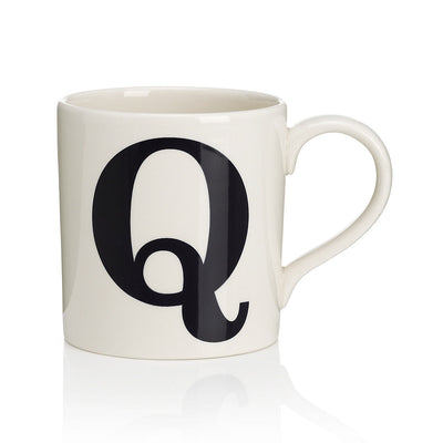 Alphabet Mug - Q, JLB-J L Bradshaws, Putti Fine Furnishings