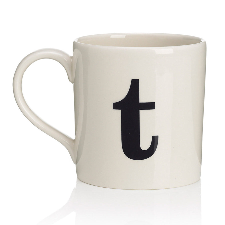 Alphabet Mug - T, JLB-J L Bradshaws, Putti Fine Furnishings