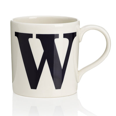 Alphabet Mug - W, JLB-J L Bradshaws, Putti Fine Furnishings