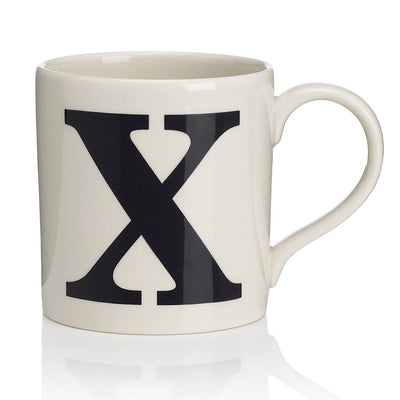 Alphabet Mug - X, JLB-J L Bradshaws, Putti Fine Furnishings