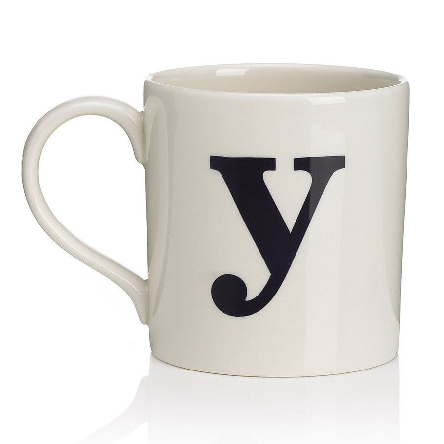 Alphabet Mug - Y, JLB-J L Bradshaws, Putti Fine Furnishings