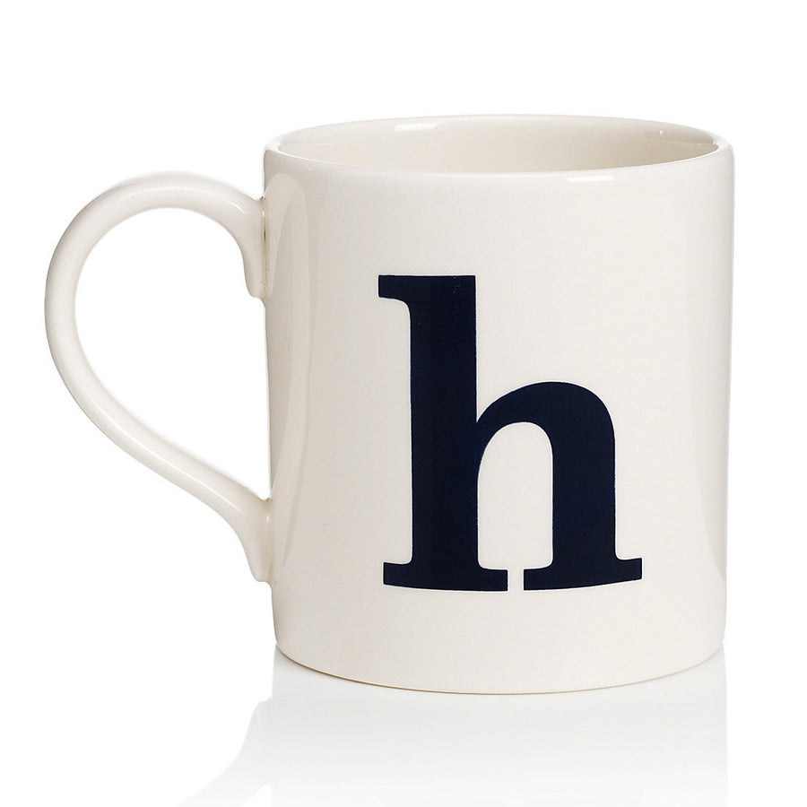 Alphabet Mug - H, JLB-J L Bradshaws, Putti Fine Furnishings