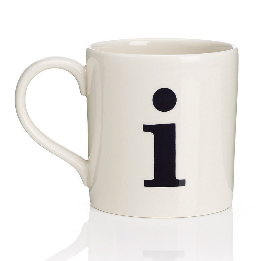Alphabet Mug - I, JLB-J L Bradshaws, Putti Fine Furnishings