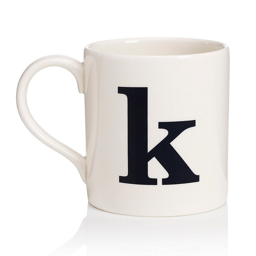 Alphabet Mug - K, JLB-J L Bradshaws, Putti Fine Furnishings