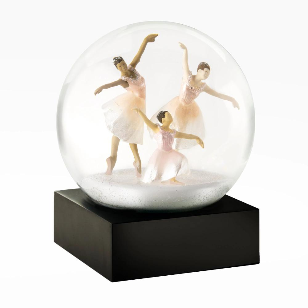 CoolSnowGlobes | Three Dancers Cool Snow Globe | Putti Celebrations Canada