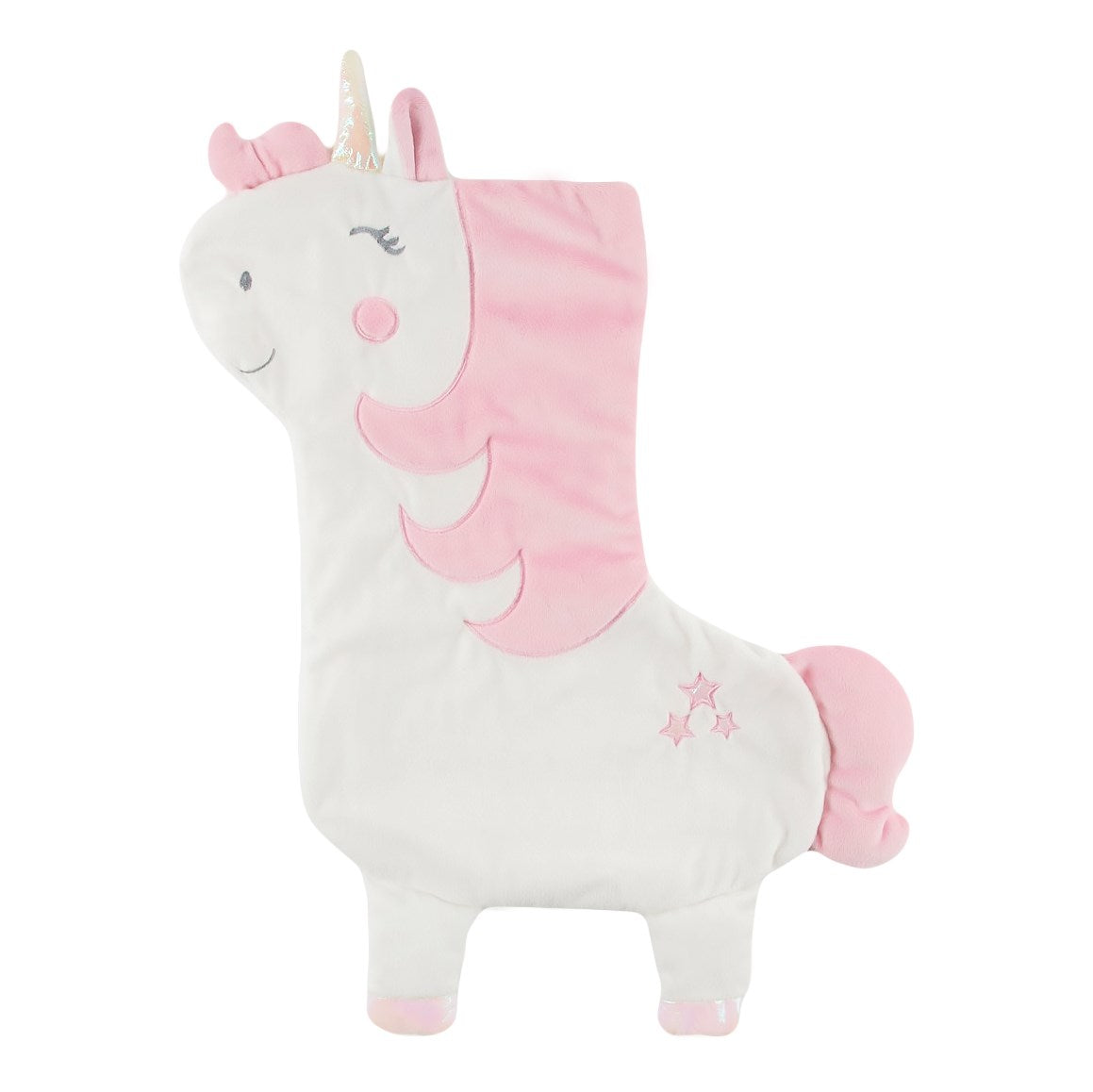 Velvet Unicorn Christmas Stocking | Putti Christmas Canada